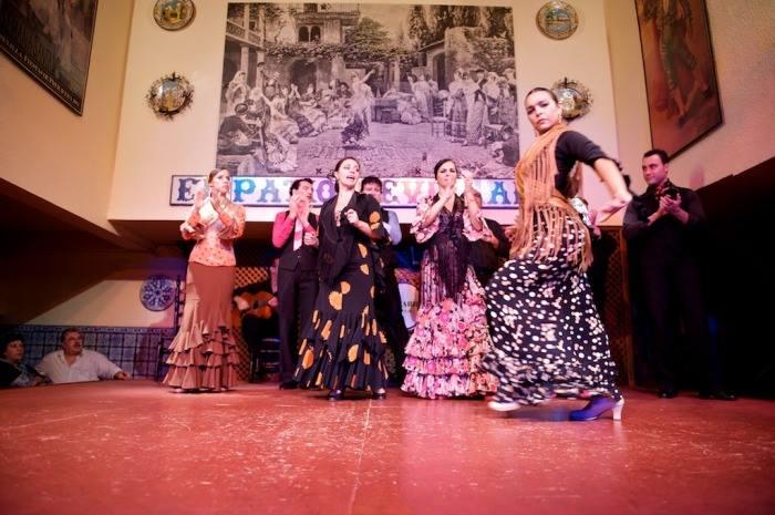 Enjoy the flamenco show