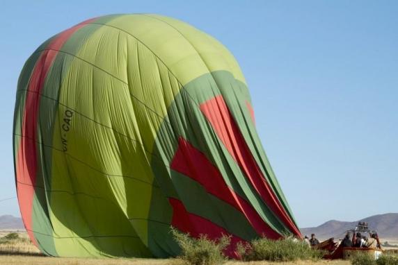 Jump into a Balloon Ride