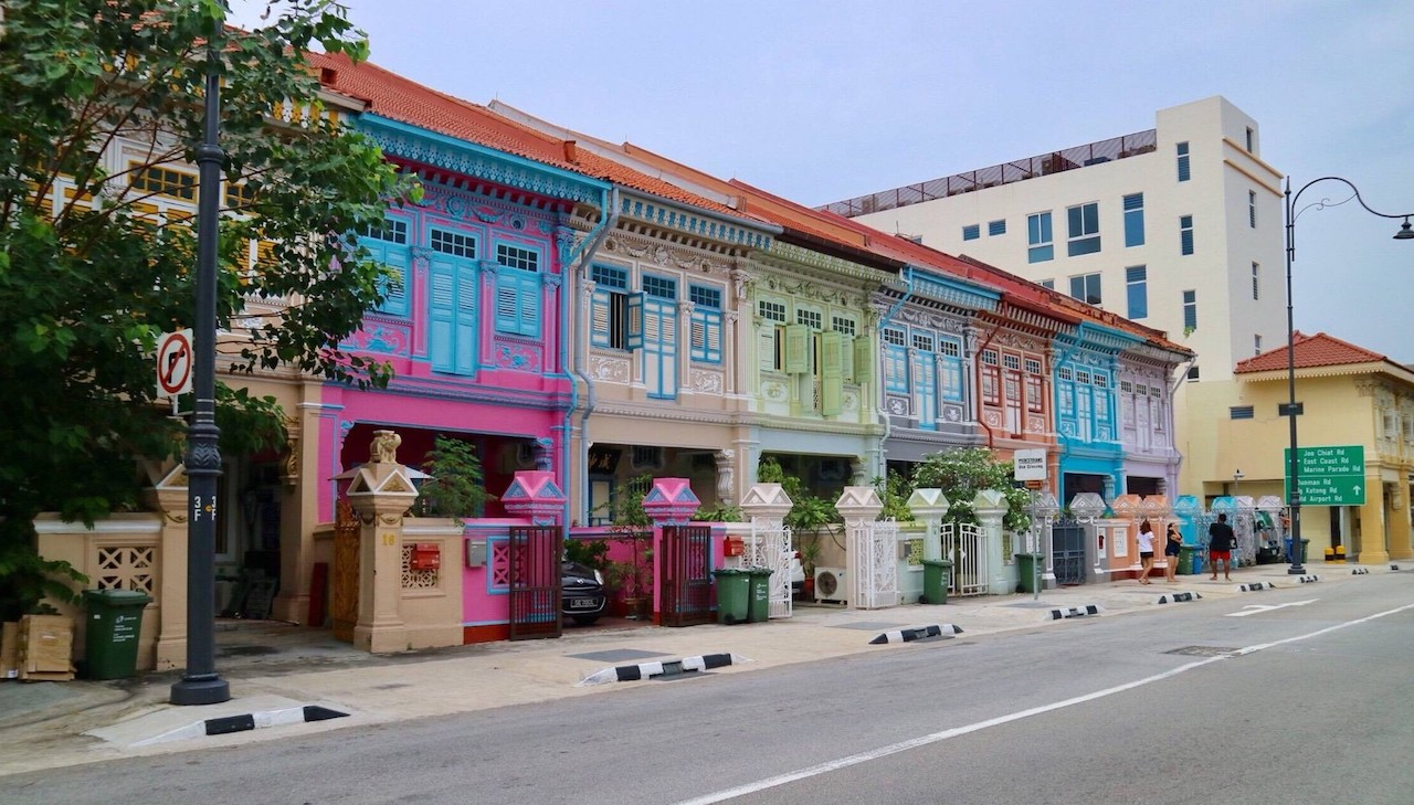 Admire the Peranakan Houses