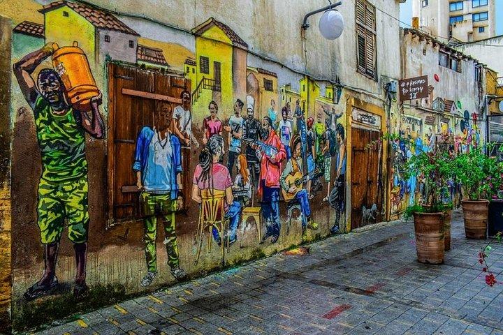 Admire the street art of Nicosia