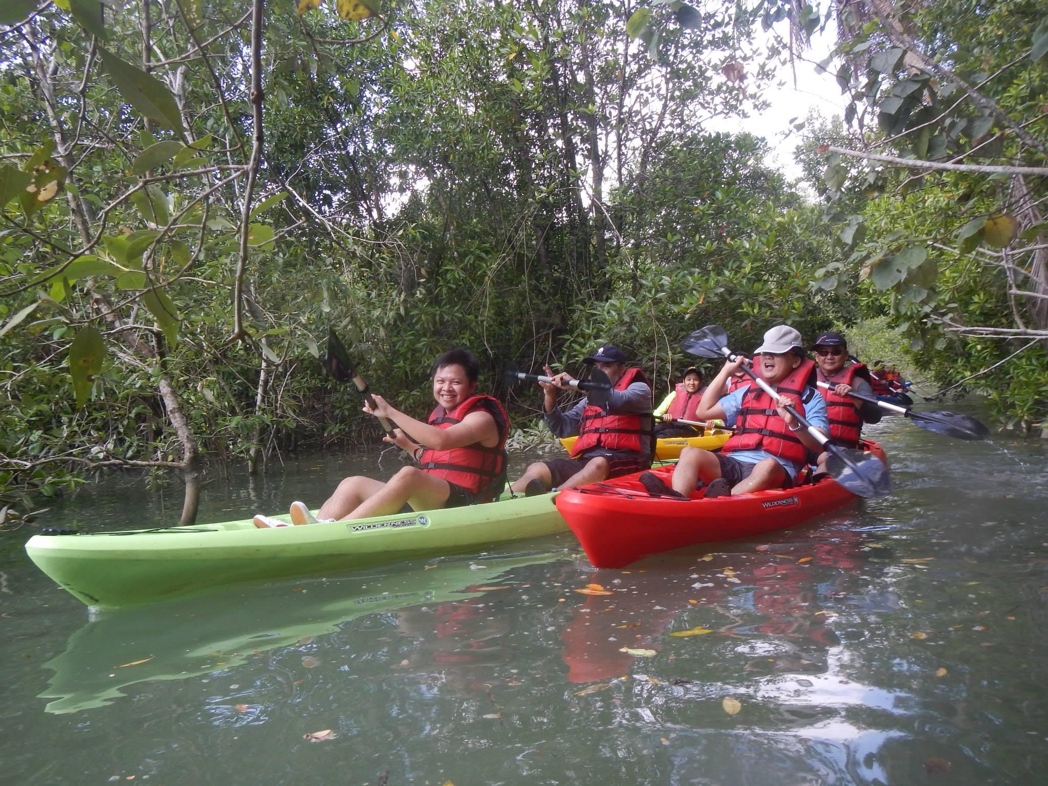 Go for a kayaking tour in Palau Ubin