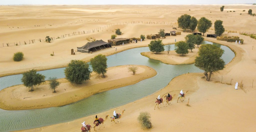 Dubai Bedouin Experience in Al Marmoom with Traditional Food