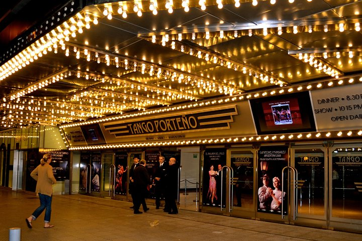 Buenos Aires Shore Excursion: Tango Porteño Dinner and Tango Show