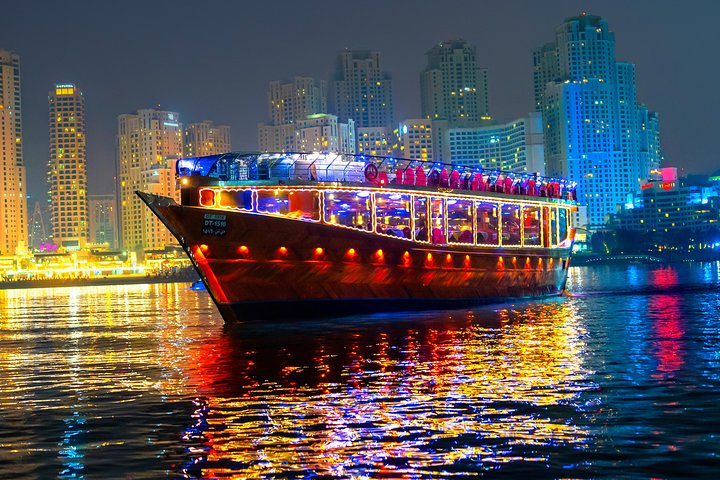 Marina Dhow Cruise Dinner with hotel Transfers