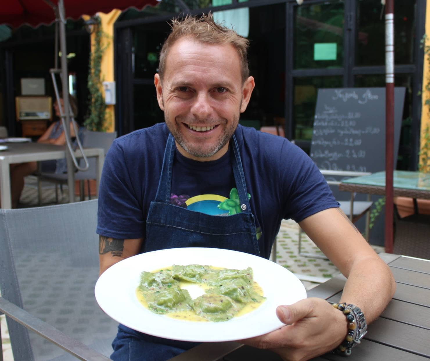 Sunday A Mano (By Hand) With Chef  Enzo Neri