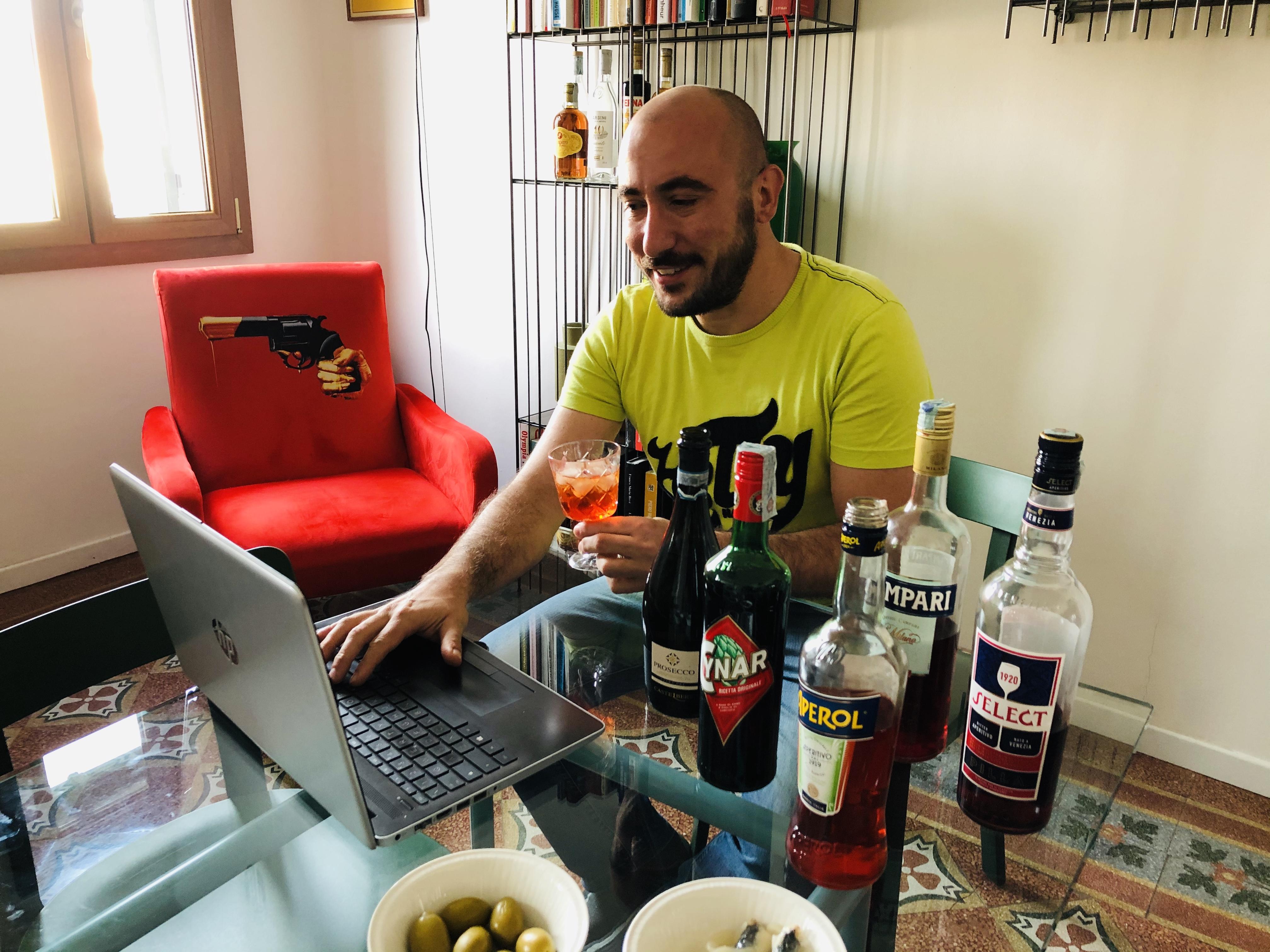 Venetian Aperol Spritz Virtual experience