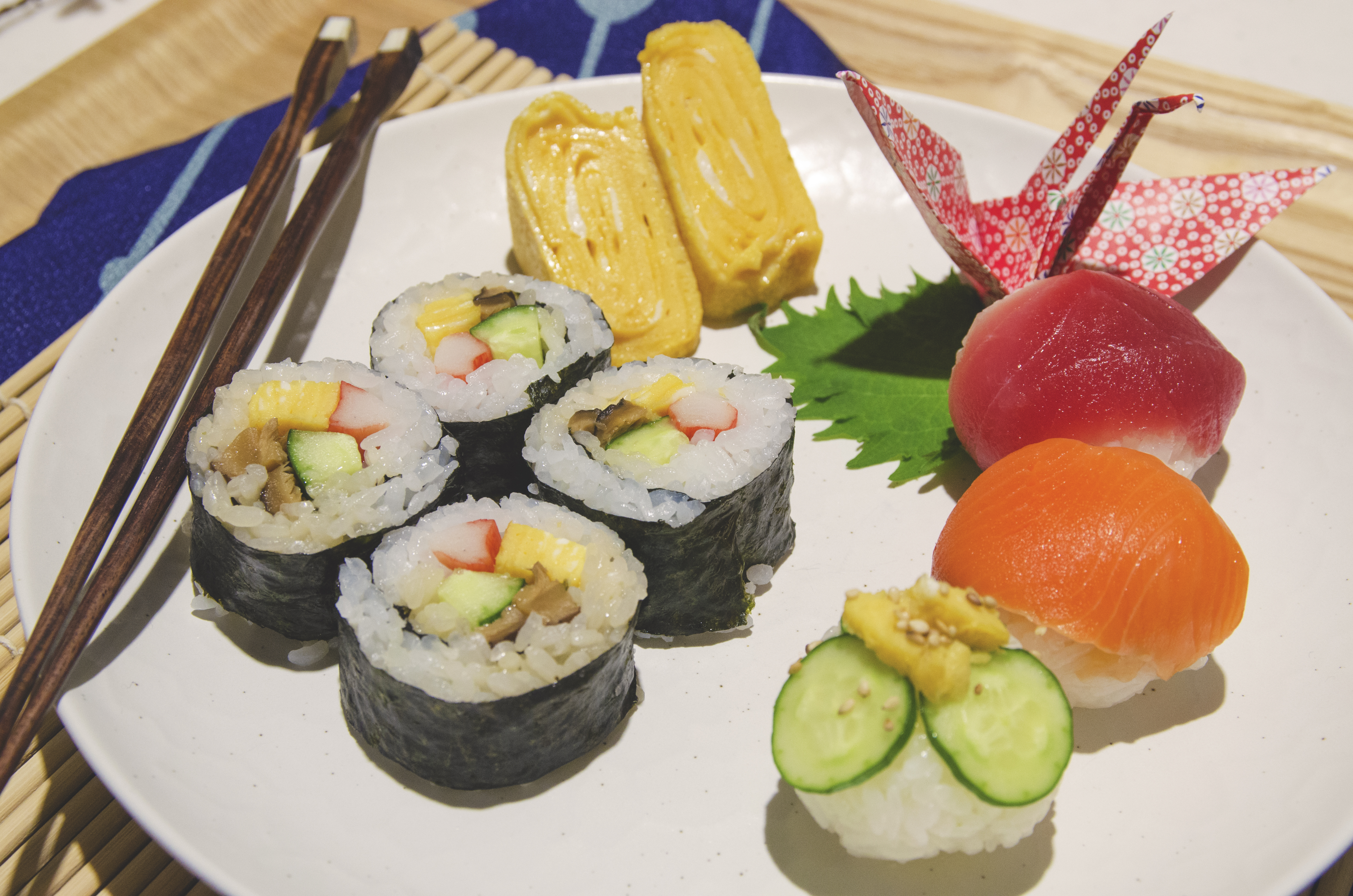 Taste the different types of Sushi