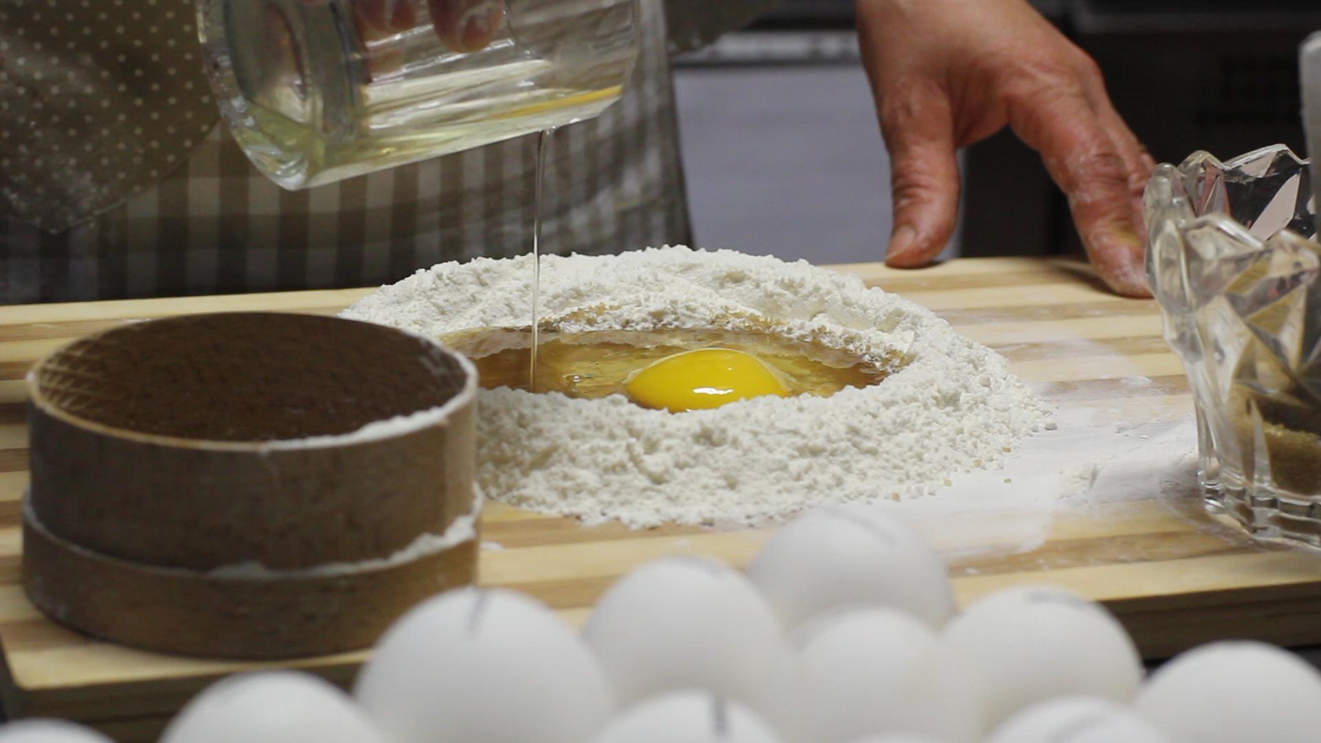 Show Cooking: the realization of Cecio Ripieno