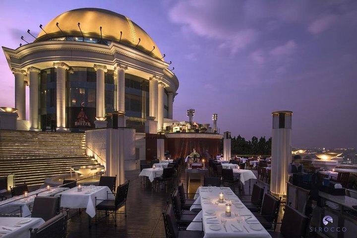 Sirocco Restaurant with 3 courses set menu