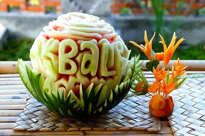 Bali Fruit Carving Class