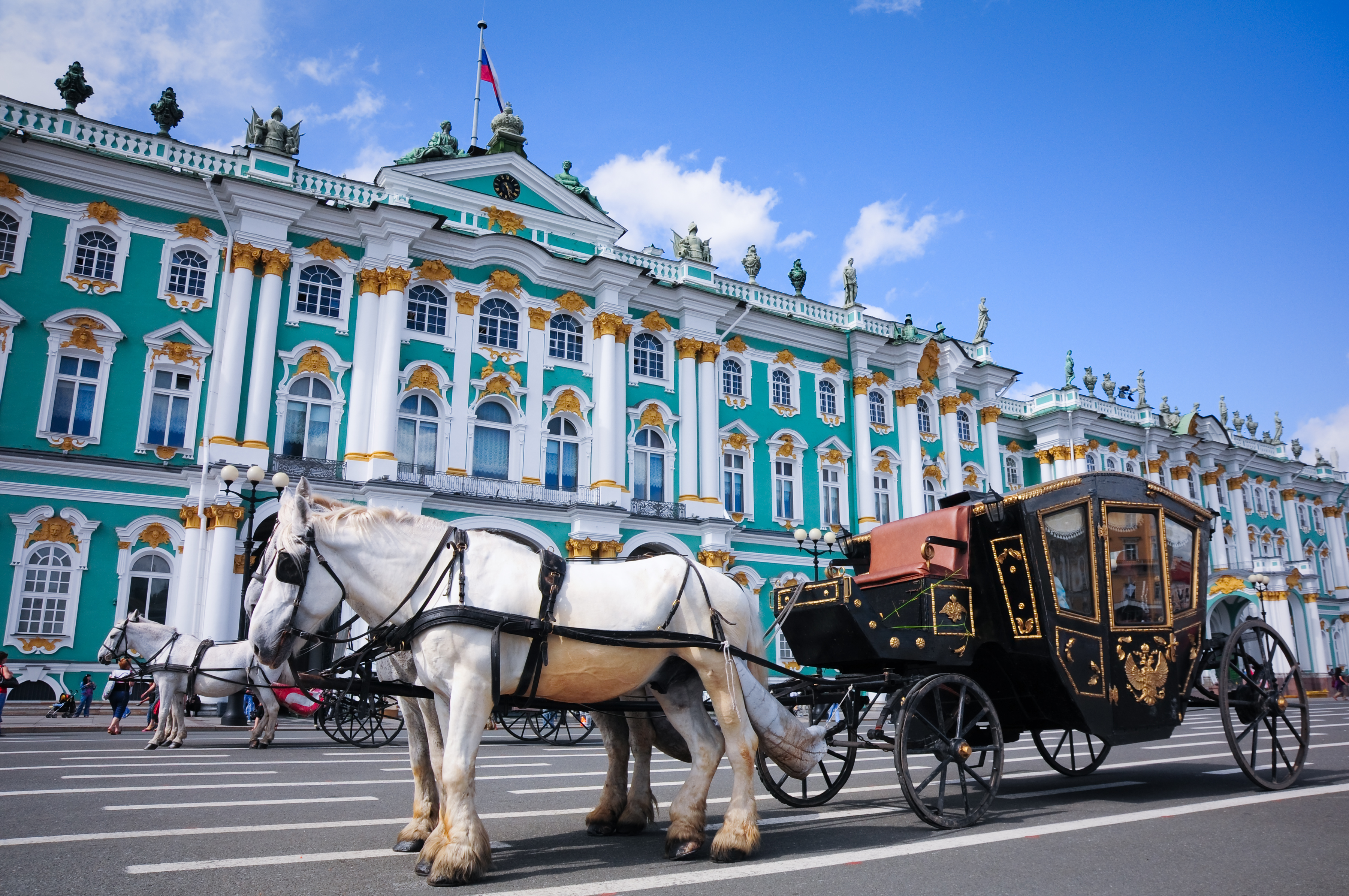 State Hermitage Museum in the Palace Square