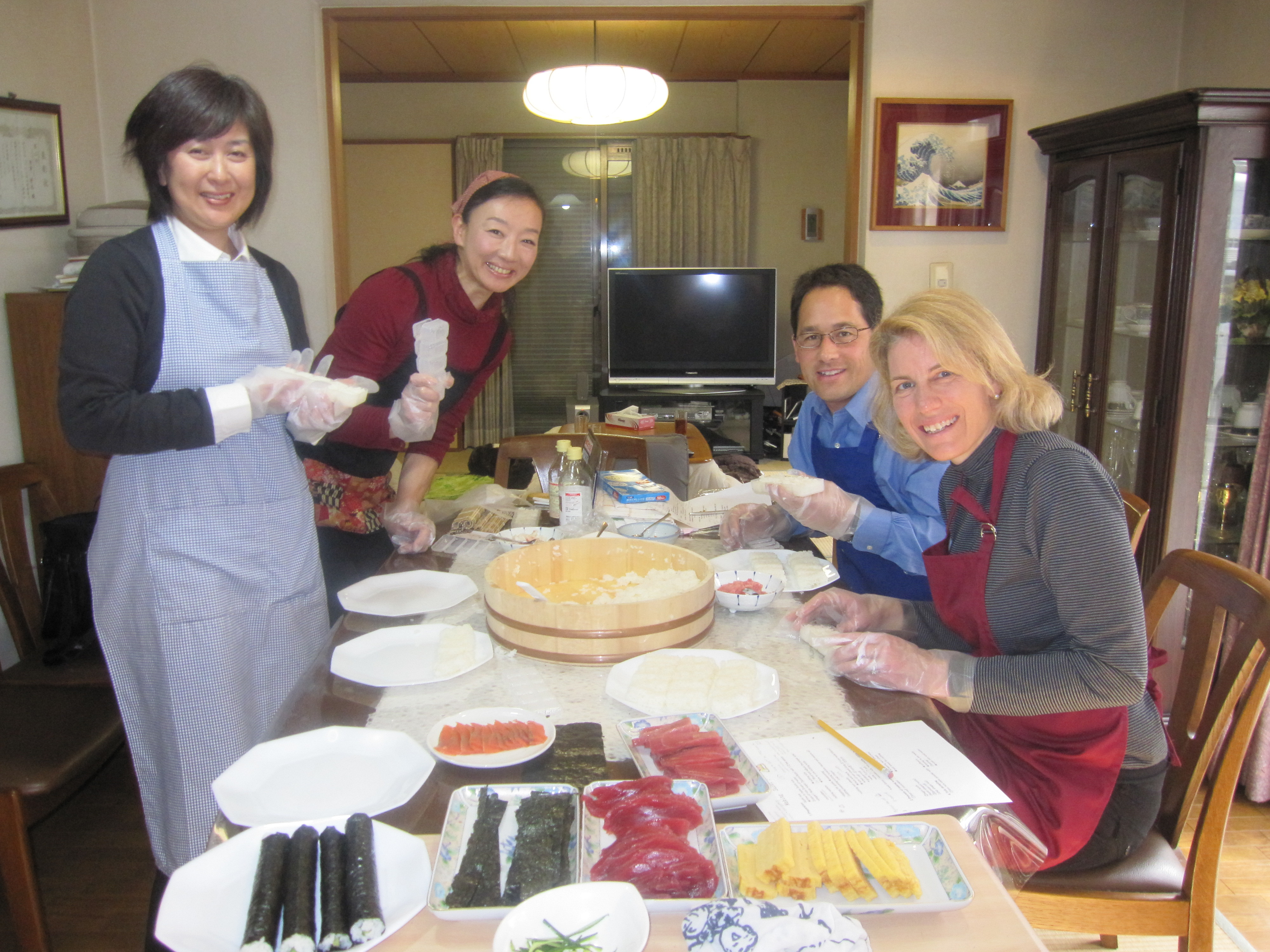 Private Sushi Workshop in a Japanese Home