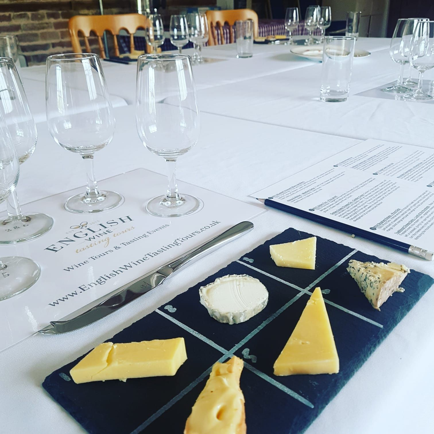 English Wine and Cheese Tour from London