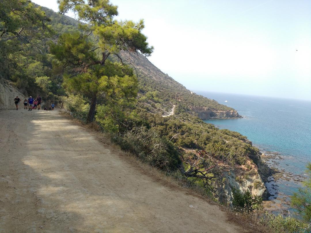 Sightsee around the coastline on a walk