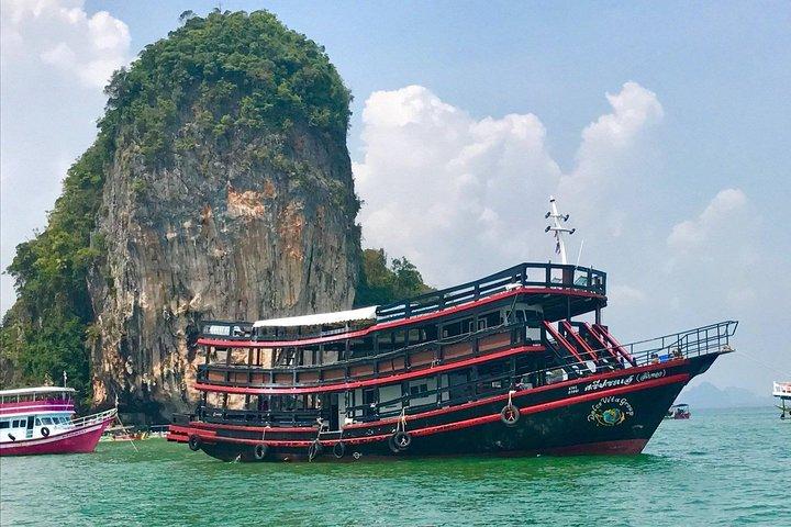 Sailing across the James Bond Island