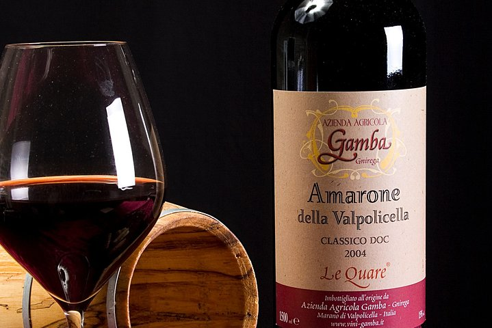 Amarone Wine Tasting from Milan by Rail