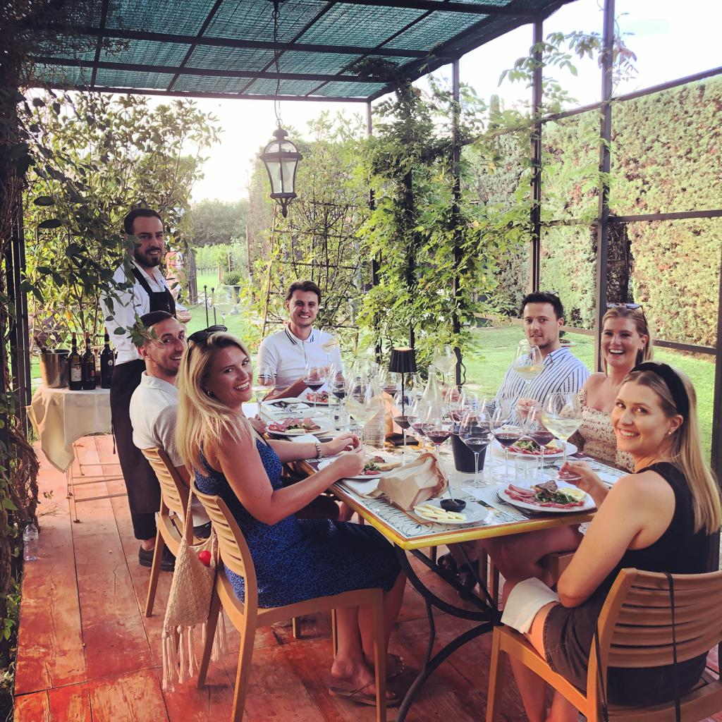 Transfer to Florence ( or Pisa ) with Lunch in a Chianti Winery