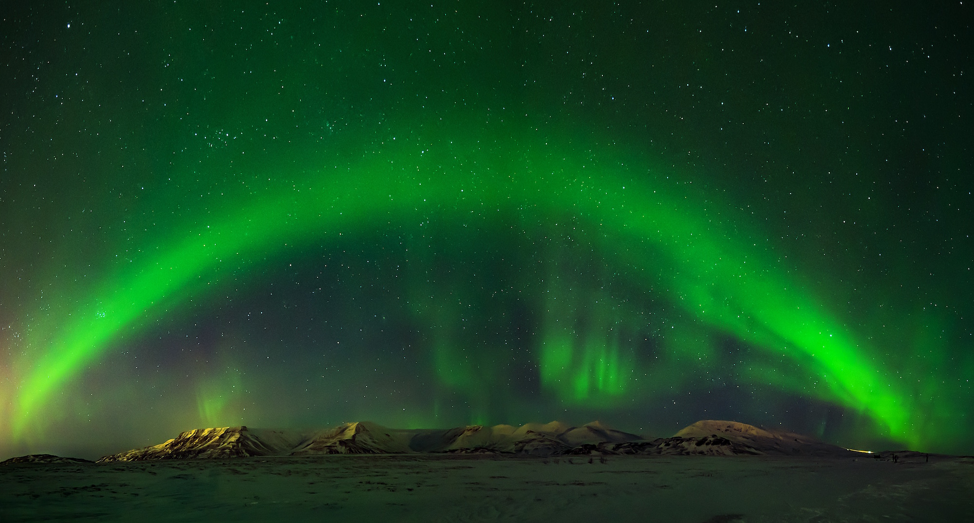 Capture the spectacular Northern Lights.
