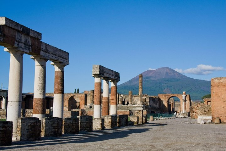 Vesuvius, Pompeii Ruins, experience vineyards and the winery tour.