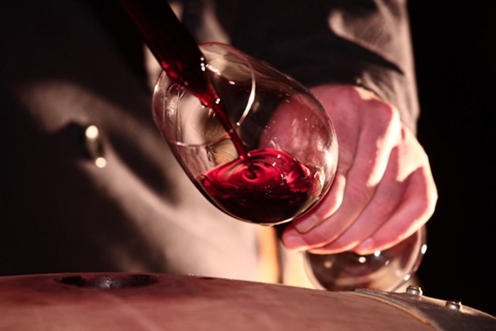 Wine tasting by night in Montalcino