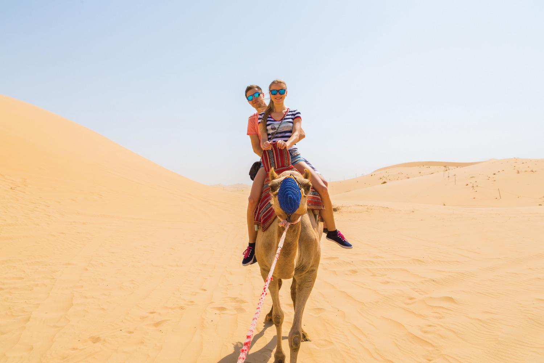 Enjoy Camel Ride