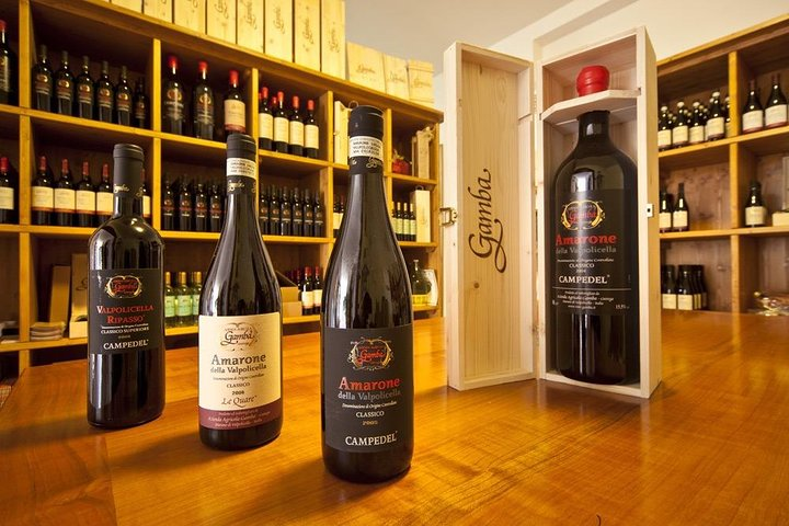 Amarone Wine Tasting from Venice by Rail