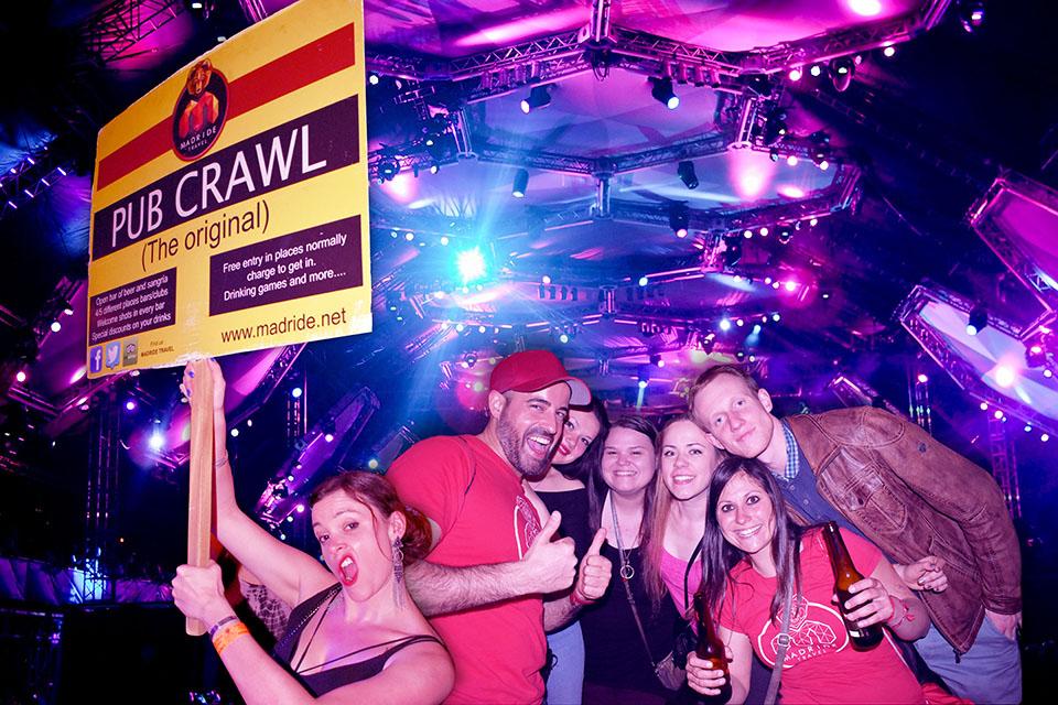 Madrid Pub Crawl