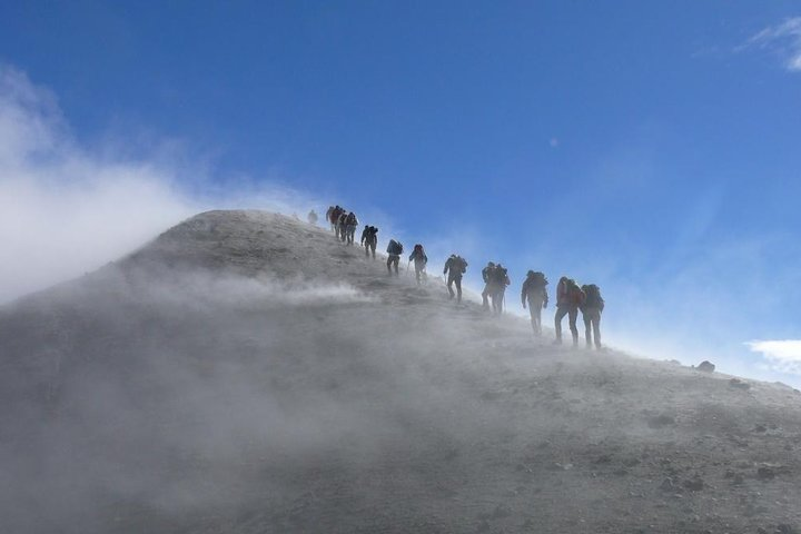 Trekking Etna tour and wine tasting Full Day - departure from Messina (with guide)