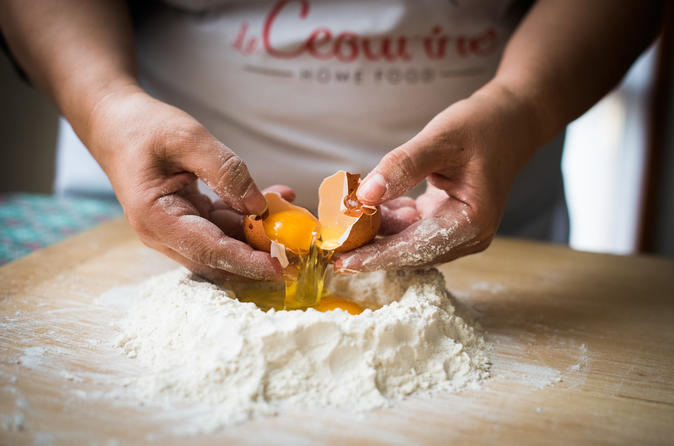 Private pasta-making class at a Cesarina's home with tasting in Palermo