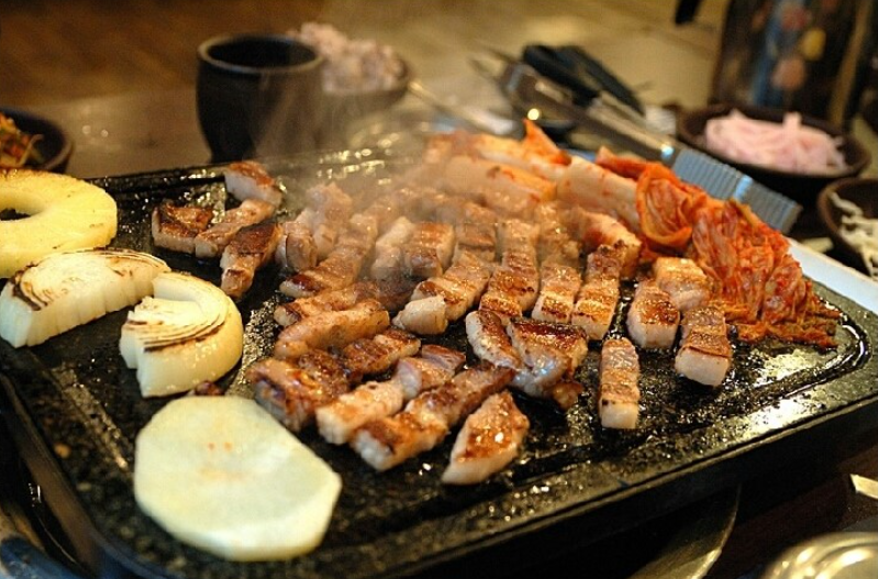 Savour authentic Korean dishes