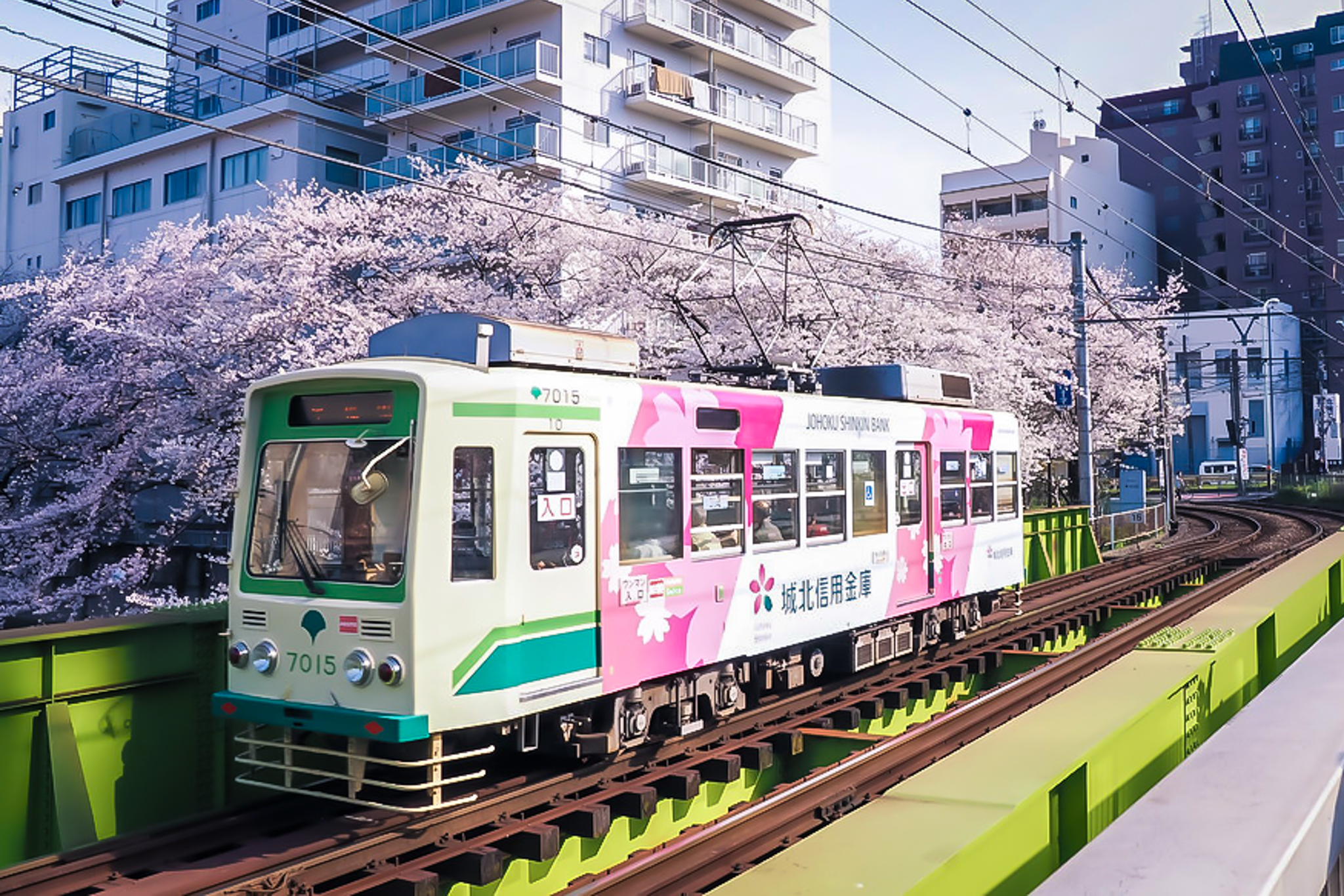 Take the scenic tram line