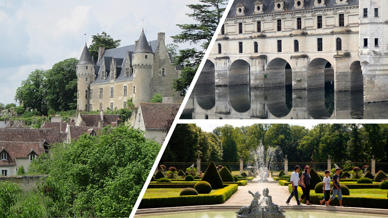 LOIRE VALLEY : Chenonceau, Valençay & Montresor ( the most beautiful village)