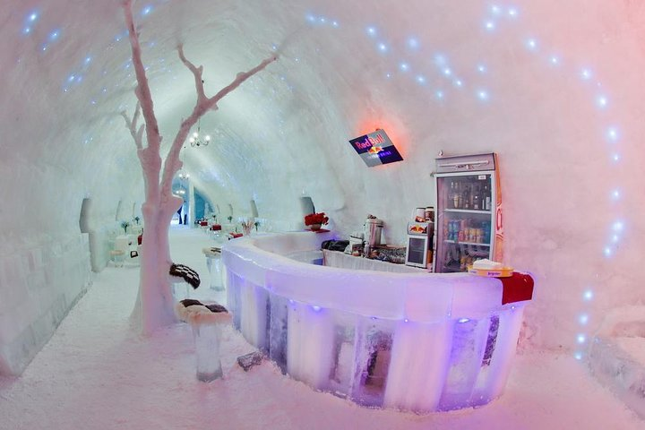 Spend a day at the Ice Hotel