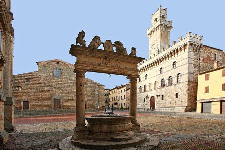 Private tour Brunello di Montalcino and Nobile di Montepulciano wine experience in Tuscany