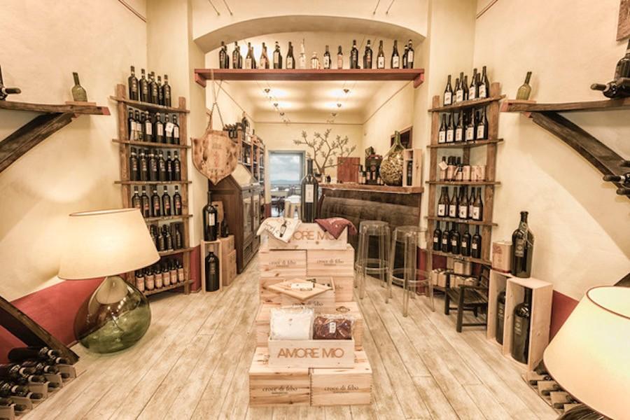 Amore mio Croce di Febo Wine Shop in Montepulciano