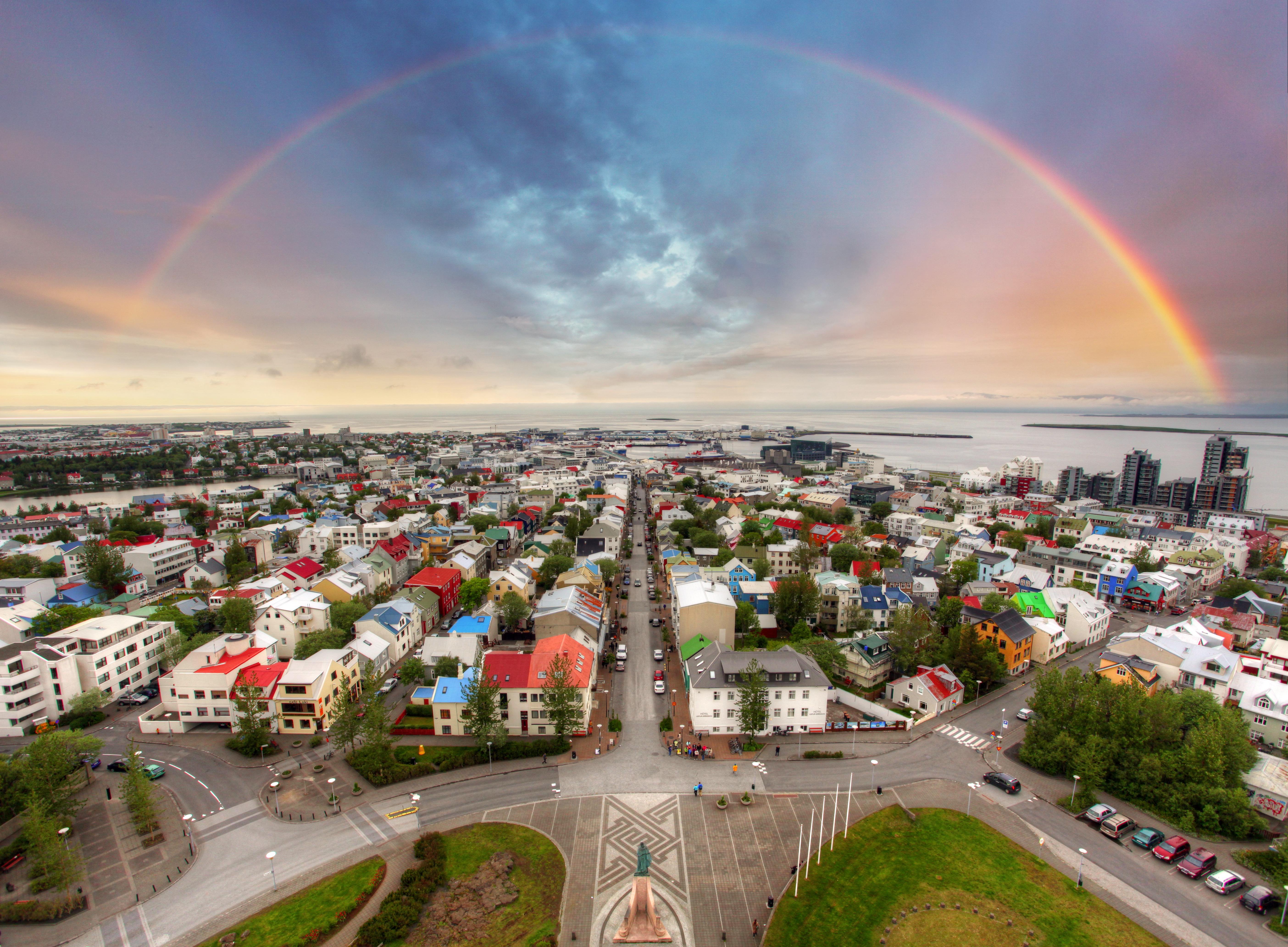 Tour around the city of Reykjavik.