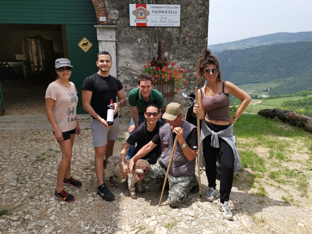 Truffle Hunting and Amarone wine tasting