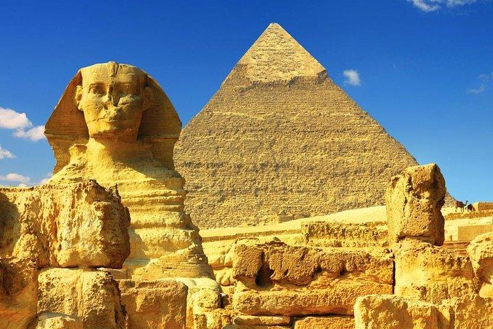 Giza Pyramid and Sphinx