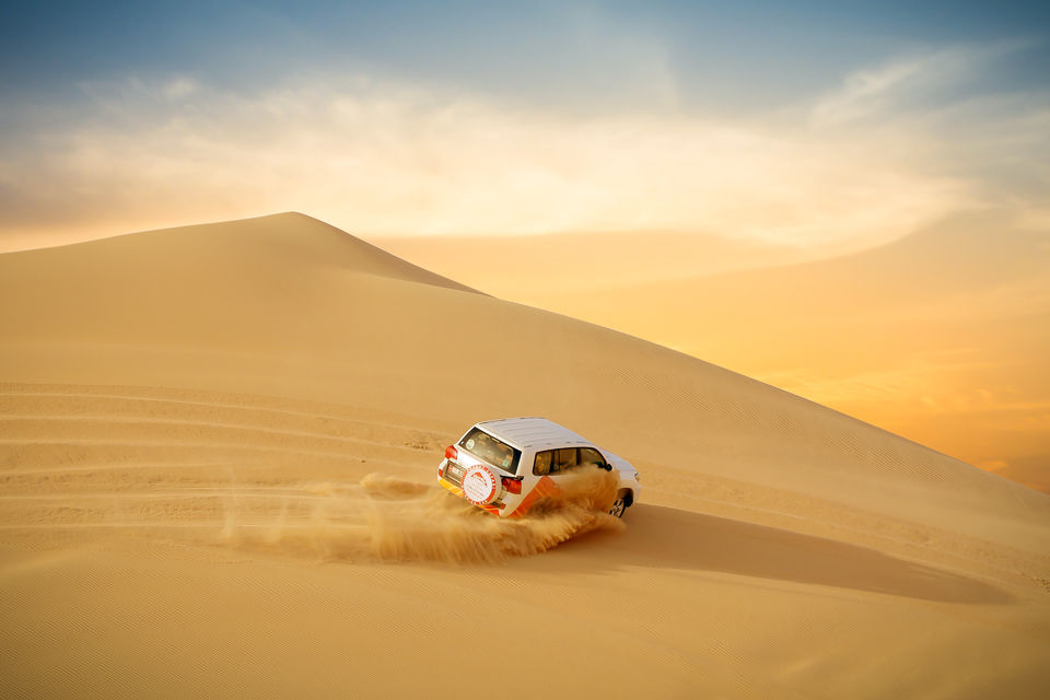 Enjoy the adventurous ride