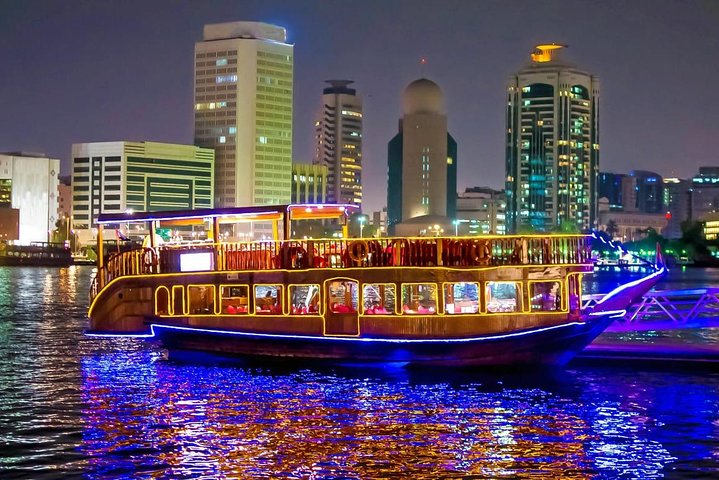 Marina Dhow Cruise Dinner with Private Transfer