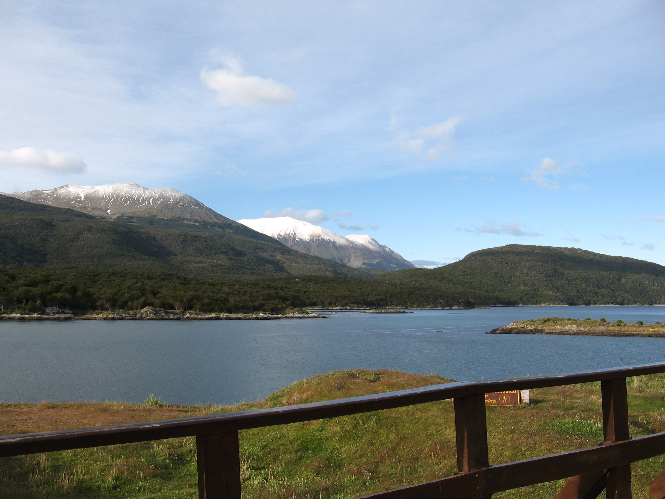 Gorgeous landscapes of Tierra del Fuego National Park