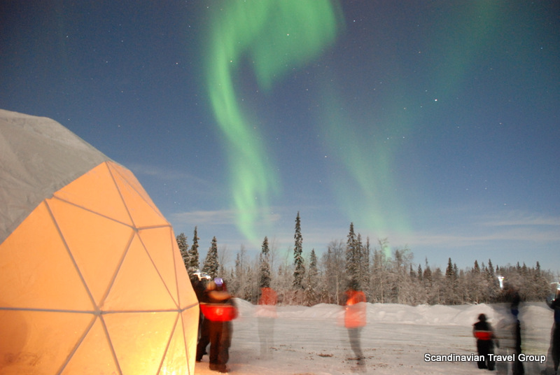 Polarman's camp and Snow igloo park