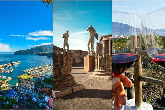 Sorrento+Pompeii+Wine Tasting (Full Day 8h)