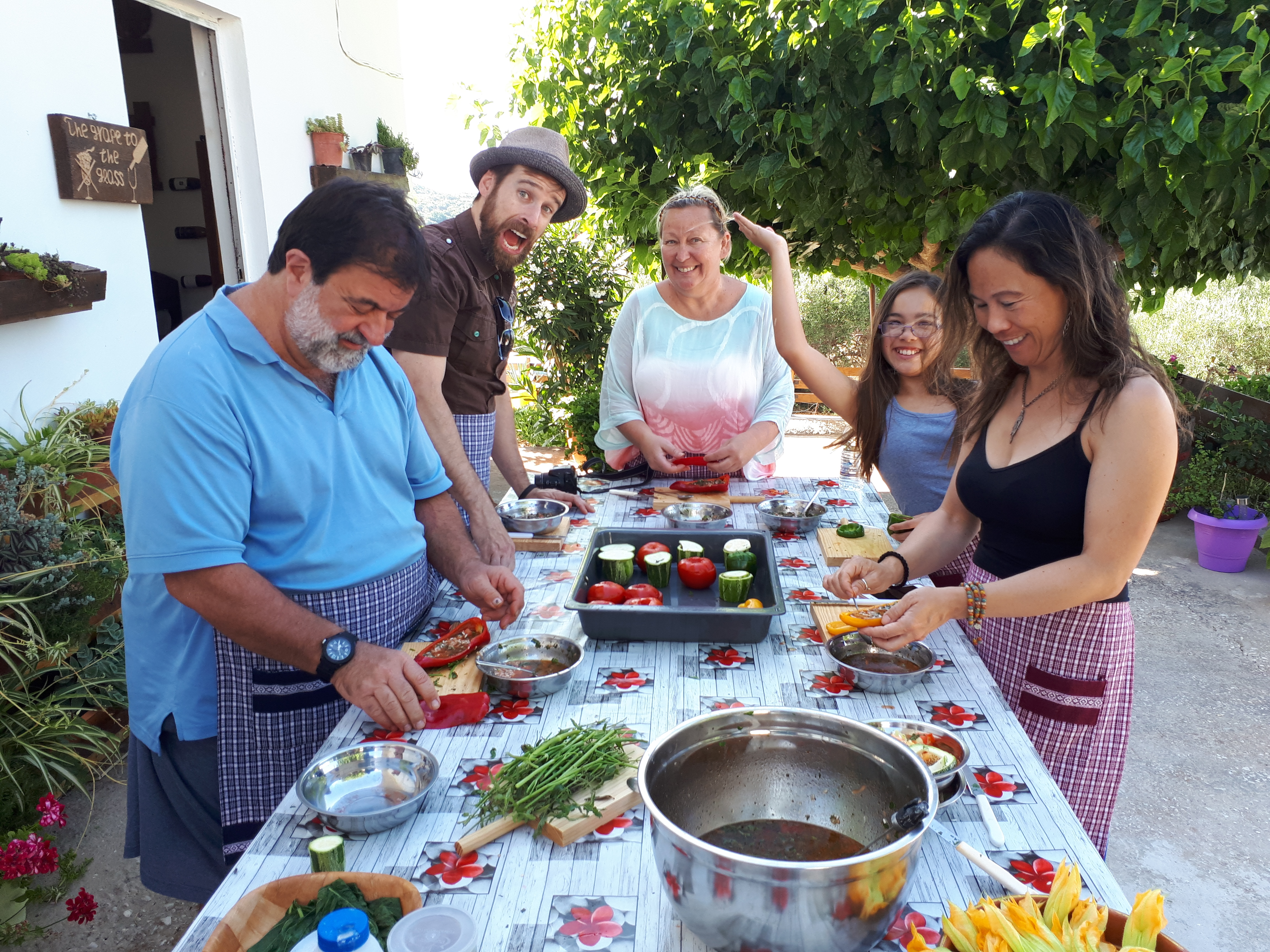 Cooking Lessons in Chania – The Real Cretan Cooking Experience
