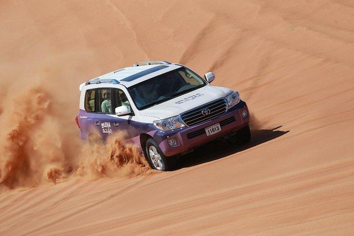 Mleiha Adventure - Dune Drive, Stargazing & BBQ Dinner with transfers from Dubai