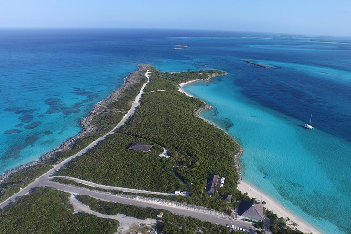 Bahamas Aerial Photography from a helicopter