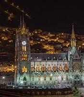 imagem da experiência Quito de noite