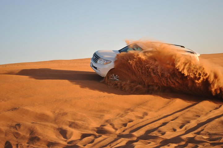 Dubai Premium High Red Dunes Extreme Desert Safari with BBQ Dinner