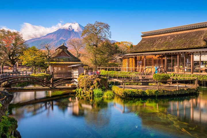Traditional Japanese style village