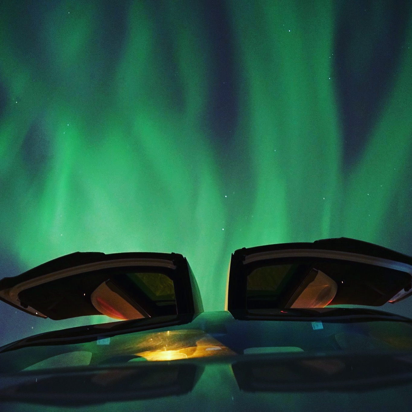 Hunt for the magical Northern lights